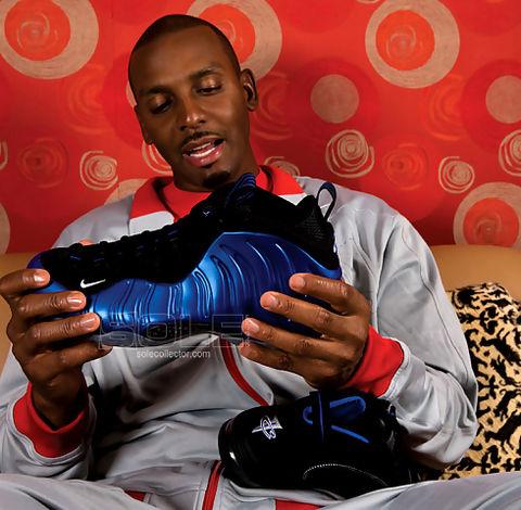 Zapatilla de baloncesto que se han agotado más rápido en la historia de Nike. Penny Hardaway asociaba su imagen