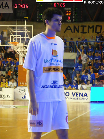 El jugador regresa así a la ACB (Foto: Pablo Romero)