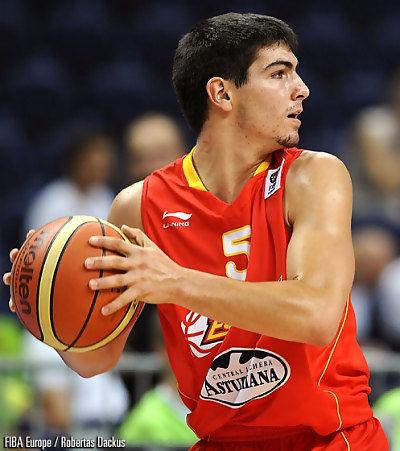 Joan Creus en el Europeo U18 de Lituania (foto FIBA Europe)