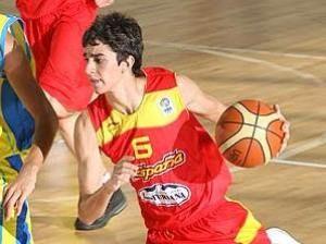 Carles Marzo con la selección española (foto FIBA Europe)