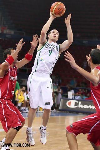 Huertas ha dirigido con maestría a Brasil (Foto FIBA)
