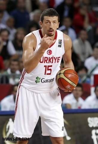 Hidayet Türkoglu es el líder tanto dentro como fuera de la cancha de Turquía (Foto FIBA)