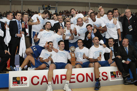 Melilla Baloncesto es el vigente campeón de Copa (Foto: Carlos M. Picazas/FEB)
