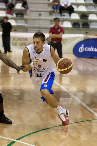 Eric Sánchez es uno de los bases de Obradoiro (Foto: Andrés H.-Cachalvite)