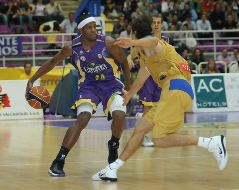 Jason Robinson el mejor del partido (ACB foto)