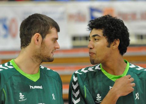 Joel Freeland y César Augusto Lima (foto: FM)