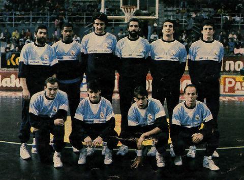 Juan Antonio Corbalán líder del Real Madrid del curso 86/87 (Foto: Realmadrid.es)