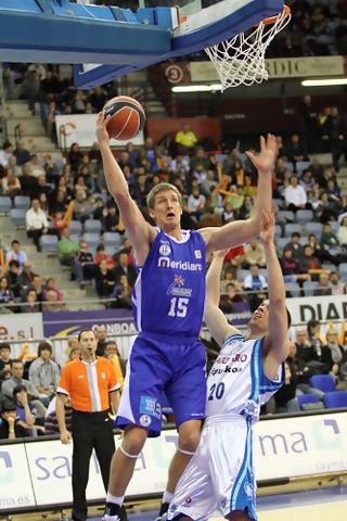 Justin Doellman fue el hombre del partido (ACB Photo/L.García)