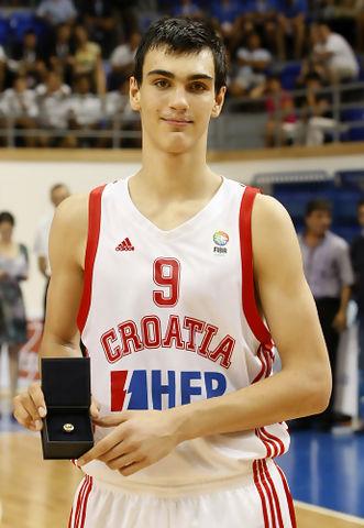 Dario Saric, del MVP Sub16 de Europa a comandar las ligas Europeas. Un futuro increíble (Foto FIBA Europe)