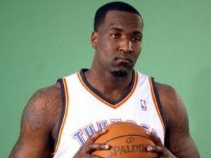 Kendrick Perkins, con los Thunder.