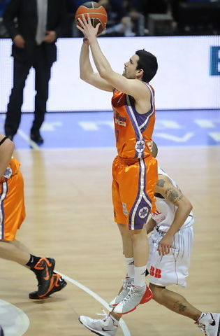 Rafa Martínez, el mejor taronja (ACB PHOTO / Lino González)