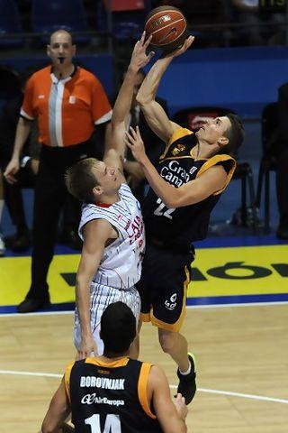 Carroll fue muy bien parado por el Baskonia (ACB PHOTO / Nuria González)