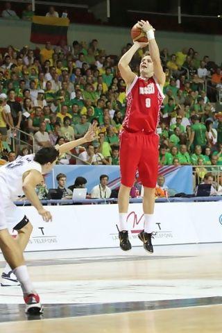 Dmitry Kulagin fue elegido en el quinteto ideal del torneo (Foto FIBA.COM)