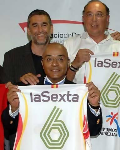 El Equipo de La Sexta con Andrés Montes, Iturriaga y De la Cruz