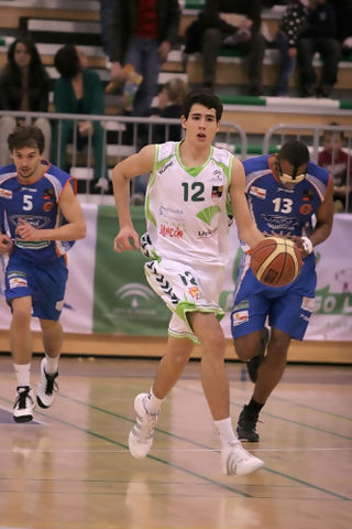 Alejandro Abrines, a dar el salto definitivo camino de la ACB (Foto web Clínicas Rincon)