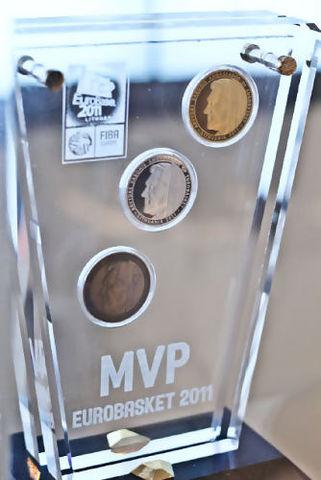Trofeo MVP del Eurobasket 2011