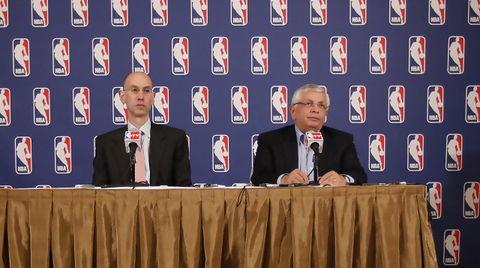 Adam Silver y David Stern (Foto: NBA)