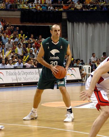 Jiménez jugaba su primera final con Unicaja <u>Foto: José María Benito Espinar</u>