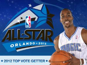 Dwight Howard, el más votado (Foto nba.com).