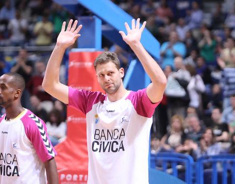 Pancho Jasen vuelve a casa / ACB PHOTO - Antonio Martín