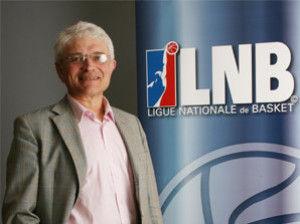 Alain Beral, presidente de la LNB (Foto: lnb.fr)