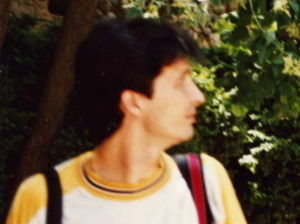Mariano Pozo, con Kareem Abdul-Jabbar (Foto: Mariano Pozo)
