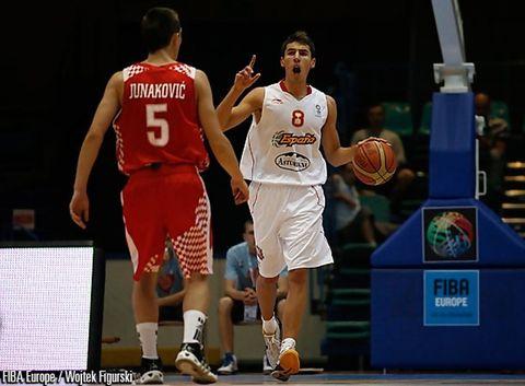 Jorge Sanz volverá a dirigir la selección Española (foto FIBA Europa)