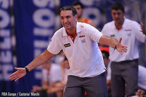 Luis Guil ha conducido a la selección U20 hasta las semifinales del Europeo (Foto FIBA Europa)