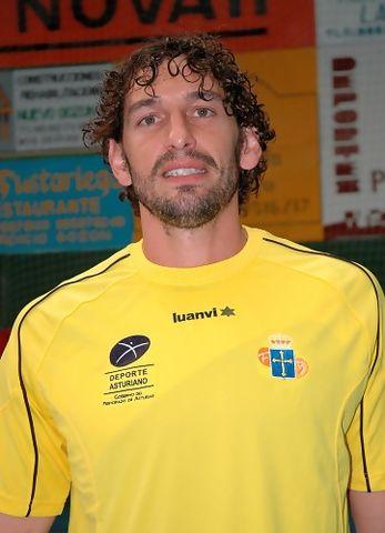 Diego Sánchez con la selección de Asturias. Ahora vuelve a su tierra (foto Chema González)