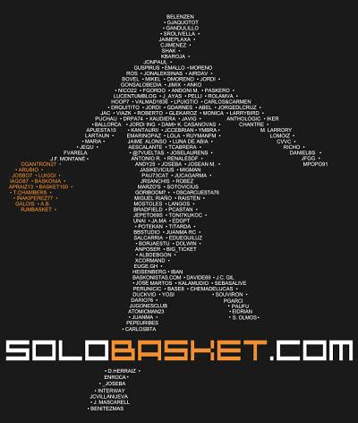 Camiseta Amig@s de Solobasket.com ¡Ell@s nos hacen crecer!