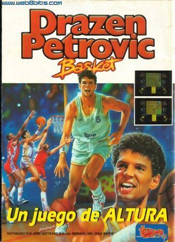 En el 89 la entonces compañía de juegos Topo Soft creó el DRAZEN PETROVIC BASKET