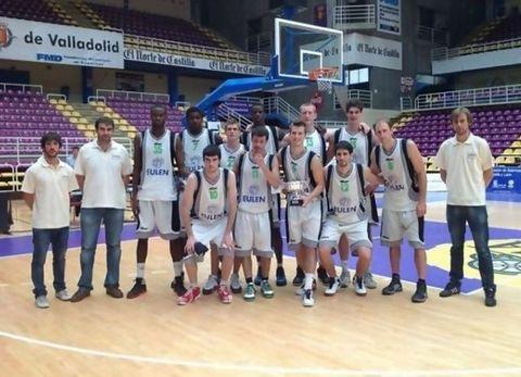 Grupo Eulen Carrefour El Bulevar se impuso al BR Valladolid para ser 3º de la Copa Castilla y Leon (foto web Fuenlabrada)