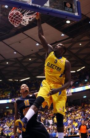 Shawn James, MVP (Foto: maccabi.co.il )