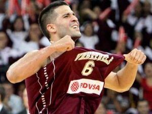 Greivis Vásquez, de celebración (Foto: fiba.com).