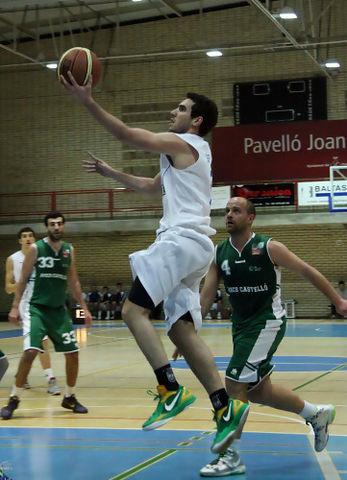 Bandeja de Ferran Bassas (foto basquetmaniàtic)