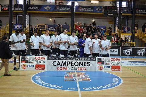 Los campeones, Ceba Guadalajara.<br>Chema Gonzalez