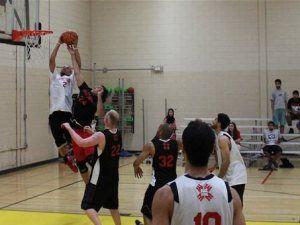 Ibrahim Jaaber, en un torneo de baloncesto islámico en Maryland (Foto: muslim basketball).