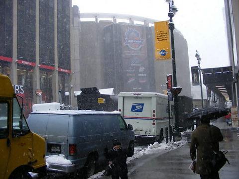El Madison Square Garden de New York (Foto: Álvaro Paricio)