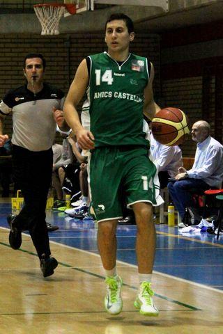 Chema García volvió a destacar en la anotación (foto basquetmaniàtic)