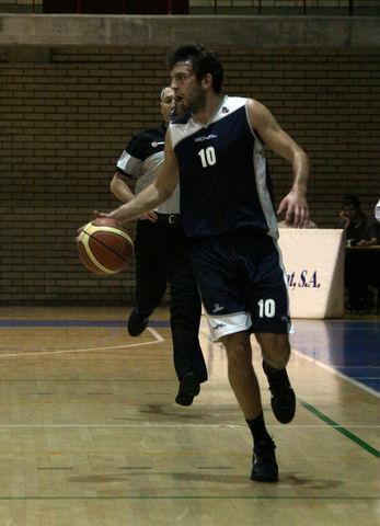Sergio Llorente, MVP del partido y de la jornada (foto basquetmaniàtic)