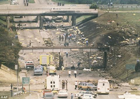 Detalles del accidente aéreo.
