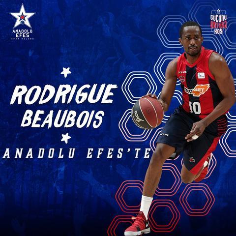 Rodrigue Beaubois ficha por el Efes
