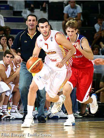 Luisma Parejo con la U18 (foto FIBA Europe)