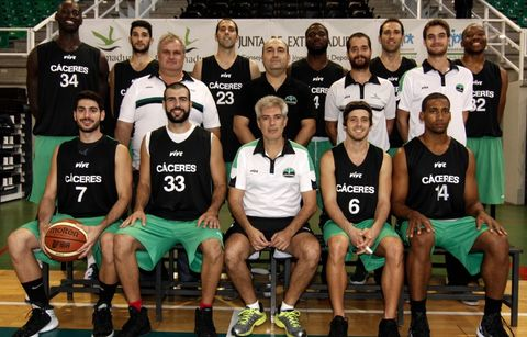 Cáceres Básket 2013-14