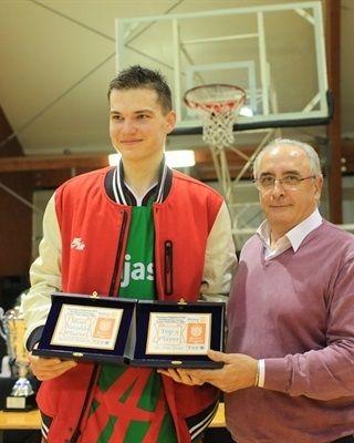 Maxim Salash, MVP NIJT de Roma (foto Euroleague)