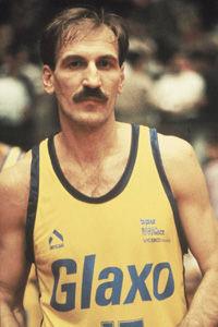 Drazen Dalipagic, en el Glaxo Verona.