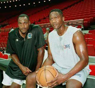 Gerald Wilkins y Dominique Wilkins.