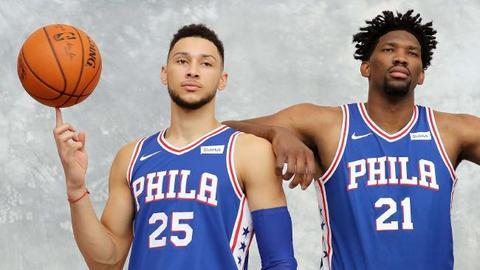 Futuro dorado en Philadelphia. #TrustTheProcess