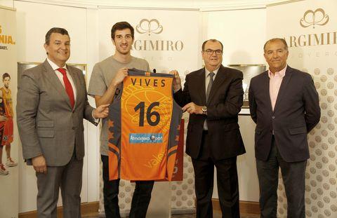 Guillem Vives en su presentación.