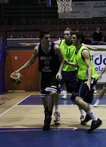 Javi Rodríguez, pieza fundamental del CB Mollet (foto basquetmaniàtic)